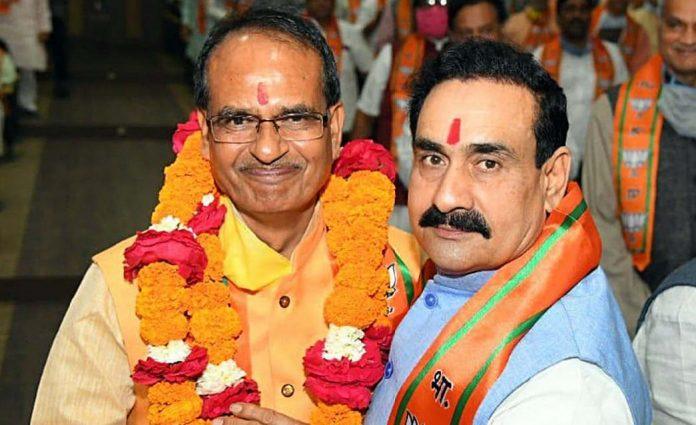 CM Shivraj के बाद MP के सबसे पावरफुल मंत्री बने Narottam Mishra मिले 4 विभाग