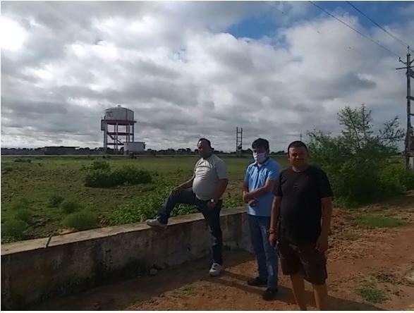 jaswant-jatav-visited-industry-area-karaira