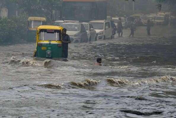 भारी बारिश HEAVY RAIN IN INDIA