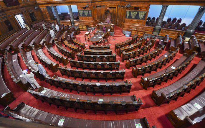 rajyasabha monsoon parliament ends 8 days