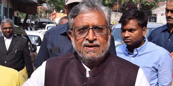 Sushil Kumar Modi Corona positive