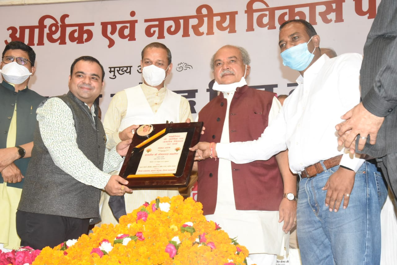 By-Election promotion be narendra singh tomar