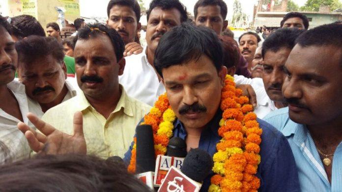 BSP candidate Akhand Pratap Singh Yadav