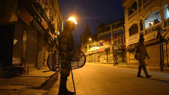 Night curfew in 5 districts of MP