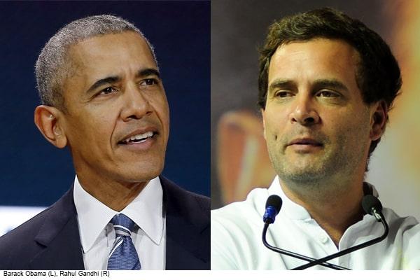 Former US President Obama calls Rahul Gandhi nervous leader