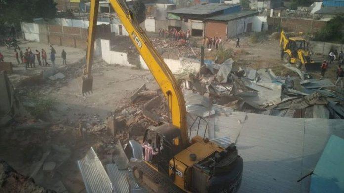 government bulldozer