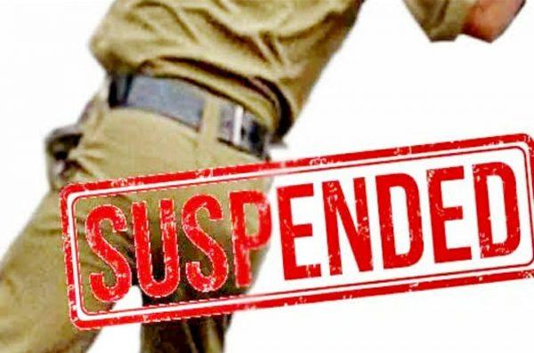 Officer suspended