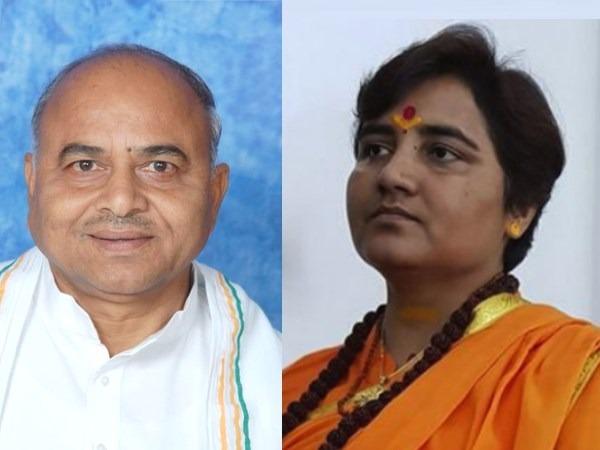 congress govind singh pragya thakur